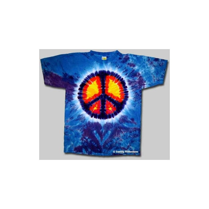 T-Shirt Peace - Homme - Small