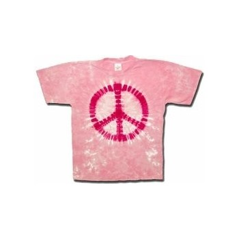 T-Shirt Pink Peace - Homme - Large
