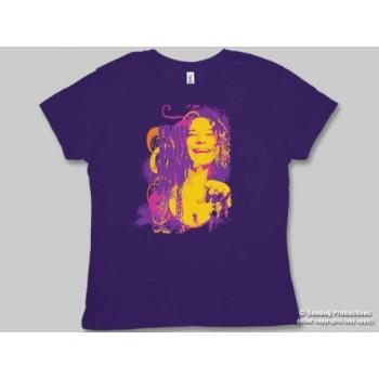 T-Shirt Janis Joplin - Moscosso - Femme -Smalle