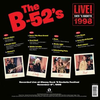 The B-52's - 33 Tours - Live At Rock 'N Rockets (Vinyle Jaune) - RSD 2018