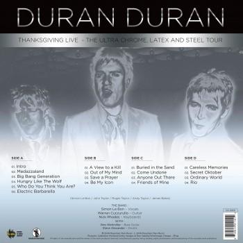 Duran Duran - 33 Tours - Thanksgiving Live (Vinyle Bleu) - RSD 2018