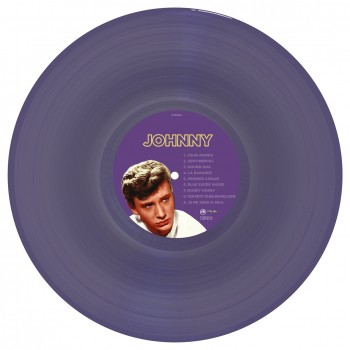 Johnny Hallyday & Elvis Presley -      33 Tours - Quand Johnny Reprend Elvis (Vinyle Violet) - 3ème Édition - RSD 2018