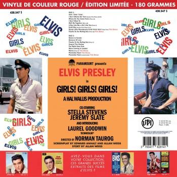 Elvis Presley - 33 Tours - Girls! Girls! Girls! (Vinyle Rouge) - RSD 2018