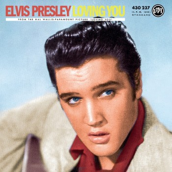 Elvis Presley - 33 Tours - Loving You (Vinyle Bleu) - RSD 2018
