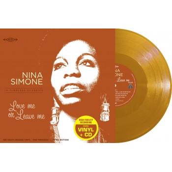Nina Simone -      33 Tours - Love Me Or Leave Me (Vinyle Orange + CD) - RSD 2018