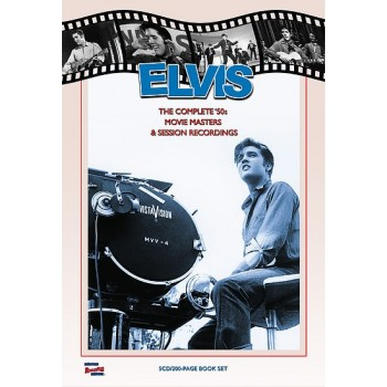 Elvis Presley - The Complete '50's Movie Masters - Memphis Recording (5 CD + Livret 200p)