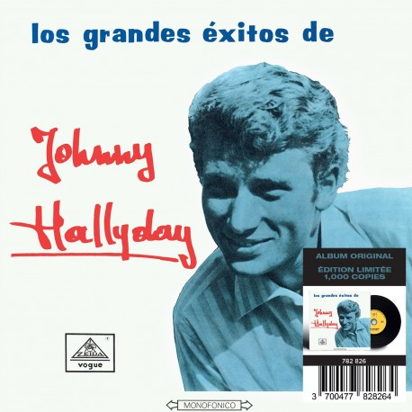CD - Johnny Hallyday - Made In Colombie - Los Grandes Exitos