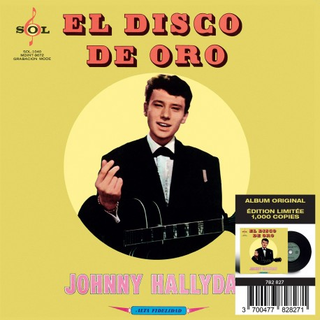 CD - Johnny Hallyday - Made In Mexique - El Disco De Oro