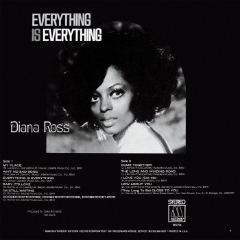 CD - Diana Ross  - Everything Is Everything