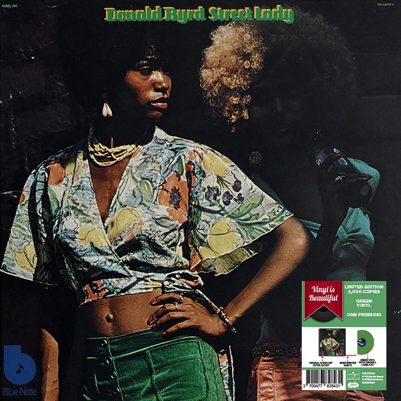 Vinyle - Donald Byrd - Street Lady (Vinyle Vert)