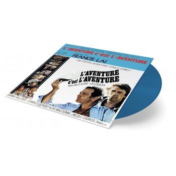 Vinyle - Francis Lai - L'aventure C'est L'aventure (Vinyle Bleu)