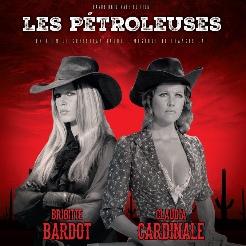 Vinyle - Francis Lai - Les Pétroleuses (Vinyle Rouge)