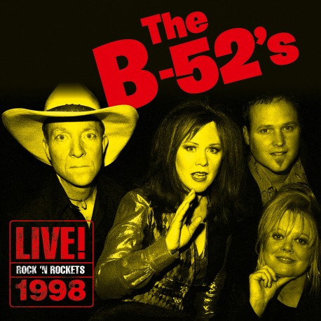 CD - The B-52's - Live At Rock 'N Rockets