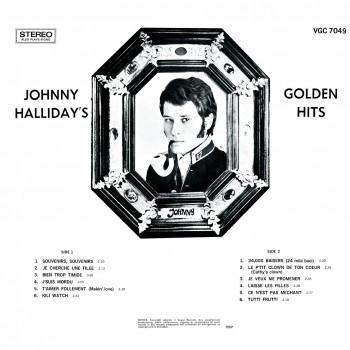 CD - Johnny Hallyday - Made In Afrique Du Sud - Golden Hits
