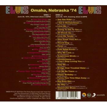 Elvis Presley - Omaha, Nebraska '74 - (2xCD) FTD