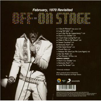 Elvis Presley - Off-On Stage