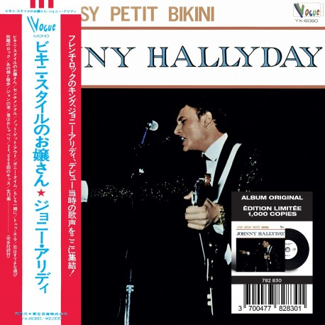 CD - Johnny Hallyday - Made In Japon - Itsy Bitsy Petit Bikini