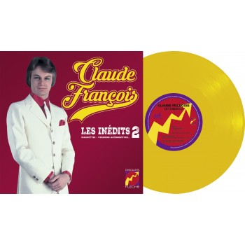 Vinyle + CD - Claude François - Les inédits Vol. 2 (Maquettes, Versions Alternatives...) - 25cm