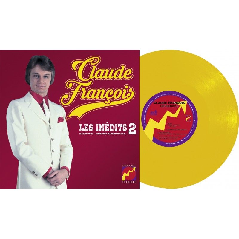 25cm - Claude François - Les Inédits Vol. 2 (Maquettes, Versions Alternatives (Vinyle 10'' + CD)