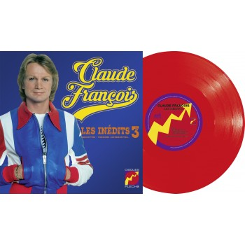 25cm - Claude François - Les Inédits Vol. 3 - Maquettes, Versions Alternatives (Vinyle 10''+ CD)