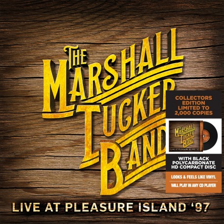 CD - Marshall Tucker Band - Live At Pleasure Island