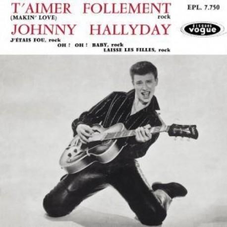 Johnny Hallyday - EP N°01 - T'aimer Follement (CD)