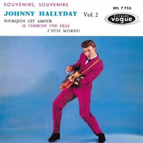 Johnny Hallyday - EP N°02 - Souvenirs, Souvenirs (CD)
