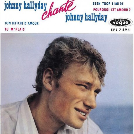 Johnny Hallyday - EP N°11 - Johnny Hallyday Chante Johnny (CD)