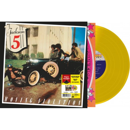 Vinyle - The Jackson 5 - Moving Violation (Vinyle Jaune)