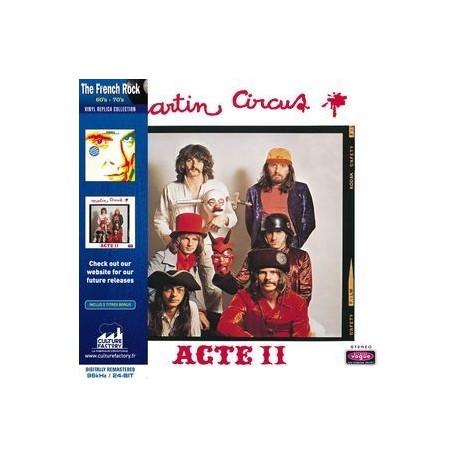 Martin Circus - Acte II (CD)