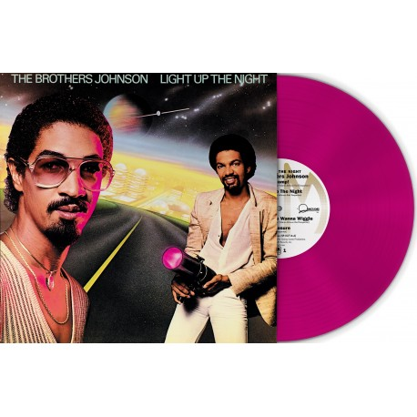 The Brothers Johnson - Light Up the Night (Vinyle Rose)