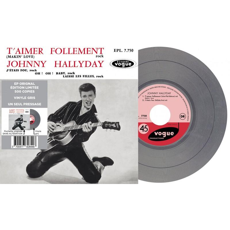 Johnny Hallyday - EP N°01 - T'aimer Follement (Vinyle)