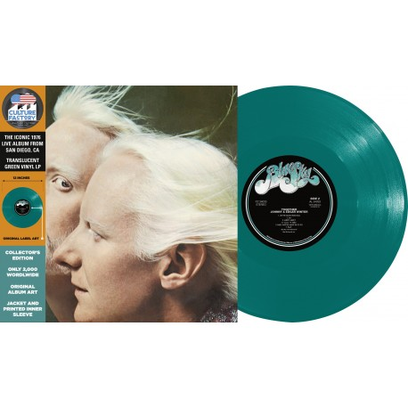 Johnny & Edgar Winter - Together (Vinyle VERT)