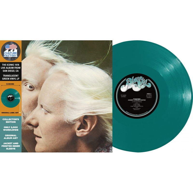 Johnny & Edgar Winter - Together (Vinyle)