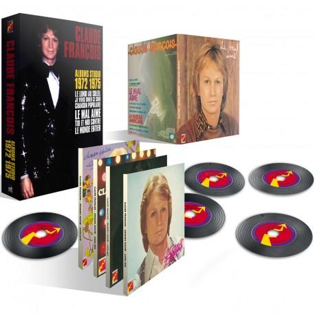 Coffret Claude François Albums Studio 1972-1975