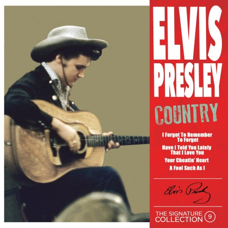 Elvis Presley - The Signature Collection N°09 - Country (CD)