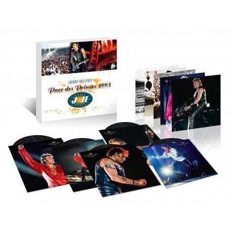 Johnny Hallyday - Parc des Princes 1993 - Coffret 25ème Anniversaire (Vinyle)