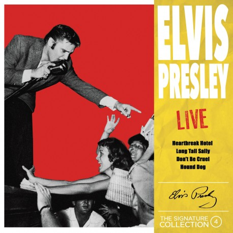 Elvis Presley - The Signature Collection N°04 - Live (CD)
