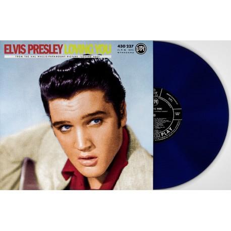 Elvis Presley - 33 Tours - Loving You (Vinyle Bleu) - RSD 2018