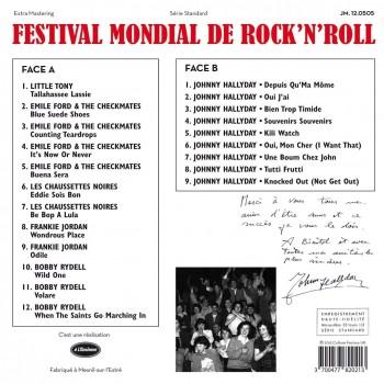 Various - Festival Mondial De Repertoire Français Du Rock 'N Roll