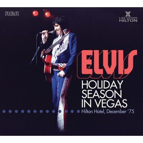Elvis Presley Holiday Season In Vegas Hilton Hotel 75