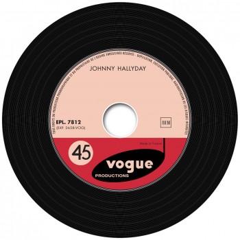 Johnny Hallyday - EP N°04 - Le P'tit Clown De Ton Coeur