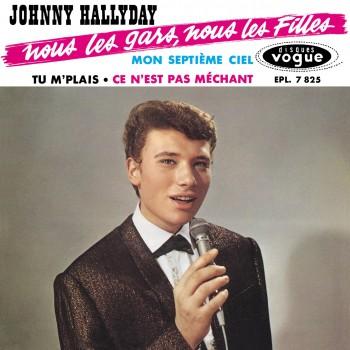 Johnny Hallyday - EP N°06 - Nous Les Gars, Nous Les Filles (CD Vinyl Replica)