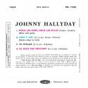 Johnny Hallyday - EP N°06 - Nous Les Gars, Nous Les Filles