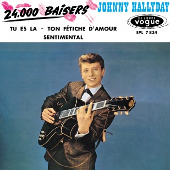 Johnny Hallyday - EP N°07 - 24 000 Baisers (CD Vinyl Replica)