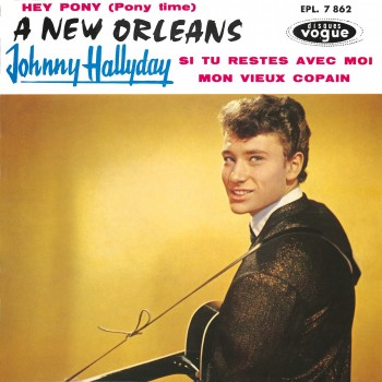 Johnny Hallyday - EP N°09 - A New Orleans (CD Vinyl Replica)