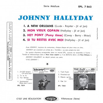 Johnny Hallyday - EP N°09 - A New Orleans