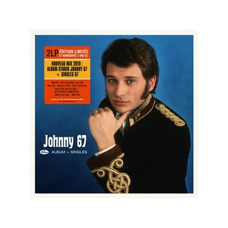Johnny Hallyday Johnny Hallyday 67 Double Vinyle