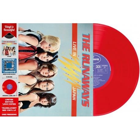 The Runaways Live In Japan Vinyle