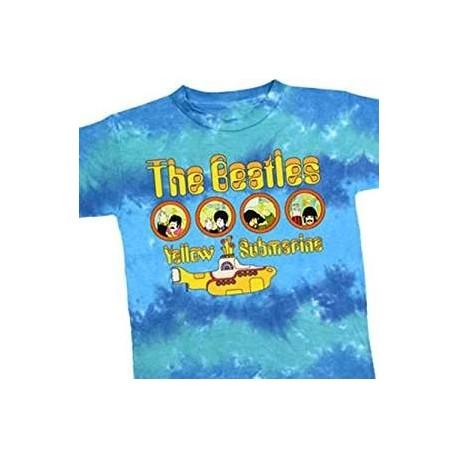 T-Shirt Ado Beatles Portholes Large